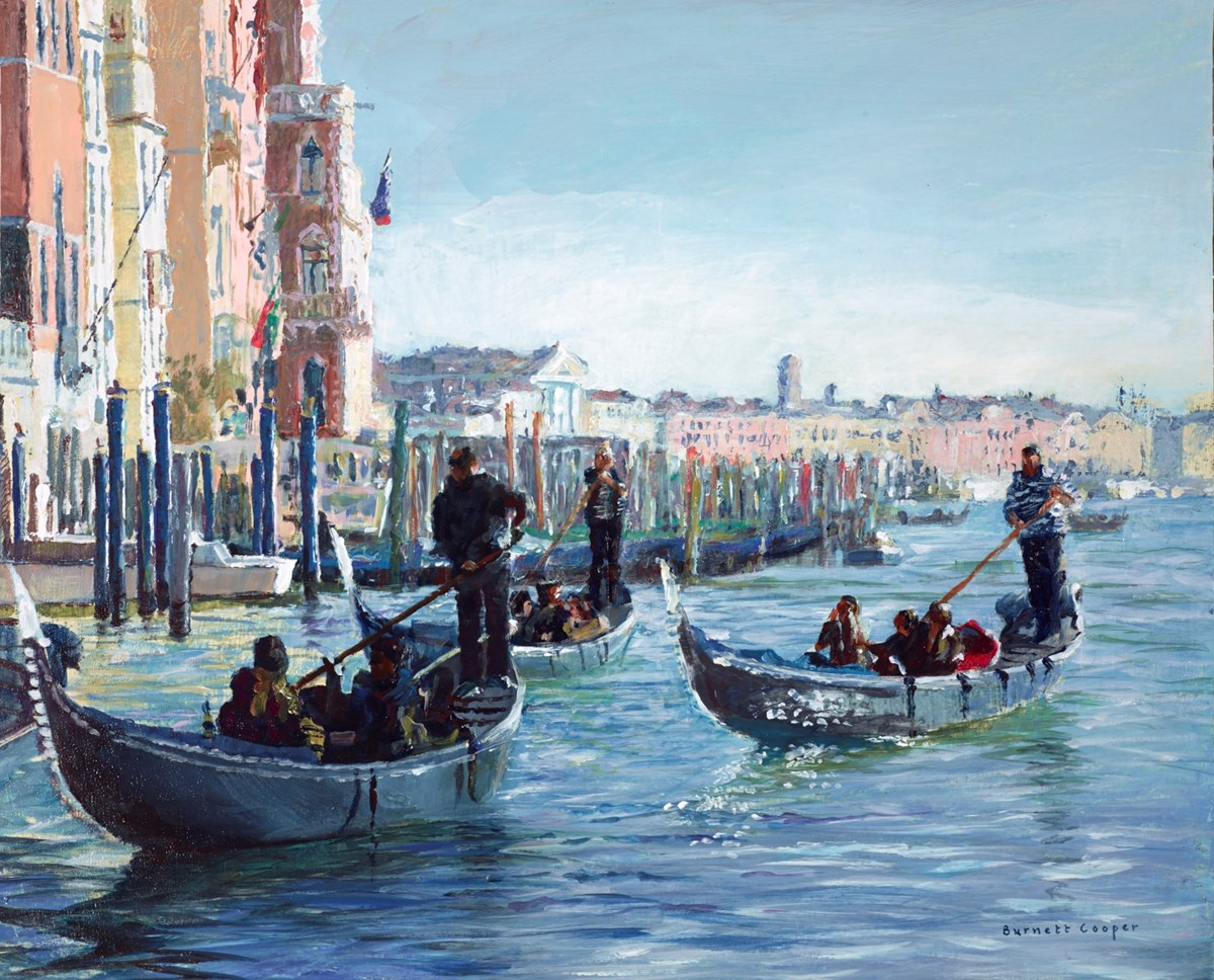 The Three Gondolas